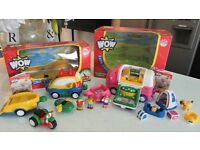 BOXED WOW KATIE CAMPERS' HOLIDAY FRIENDS + OFF ROAD OLLIE'S OUTDOOR PURSUITS CAR- RRP£51