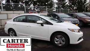 2014 Honda Civic LX + LOCAL + BLUETOOTH + 7YRS/160000KMS CERTIFI