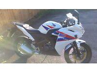 Honda CBR 125 (White) - Low Mileage