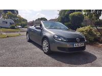 VW Golf Cabriolet 2.0 TDI Bluemotion, automatic, SAT NAV and more...