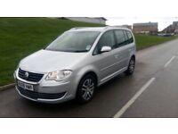 2008 VwTouran 1.9 TDI SE MPV 5dr (7 Seats) diesel silver***full history***