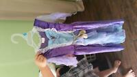 7 girls princess dress up dresses size 4-6