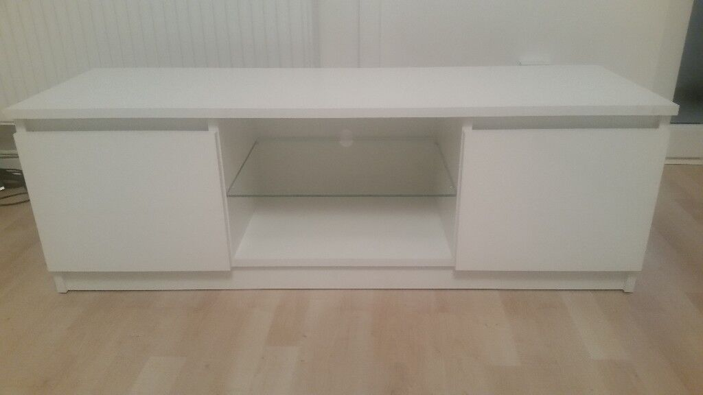 White TV cabinet. Brand new. Unwanted