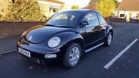 VW BEETLE 1.8T 20V 2003 (BLACK) Mot'd Sept 2018