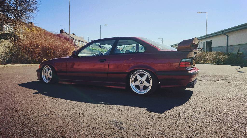 Bmw E36 Coupe 323i Modified Stance In Grimsby