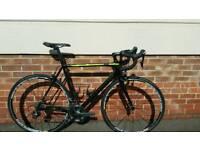 Cannondale Supers Evo Size 56 Carbon + Mavic Ksyrium elite wheels 799 ono.