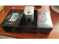 Wismec rx300 with tfv12 cloud king tank new