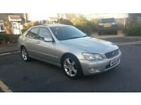 Lexus IS200 2.0 *Low Miles FSH & Mot Sat Nav* (320i 325i 520i 525i a4 a6 c180 c200 avensis accord)