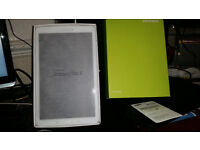 brand new samsung galaxy tab e with new case and 32 gig memory card