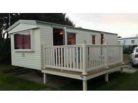 6 berth private hire static caravan at Skipsea Sands holiday park