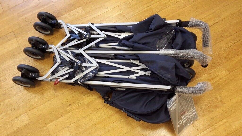 Brand new, unused, Still wrapped. Koochi Double/twin side by side buggy stroller