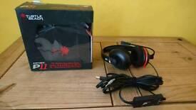 Turtle Beach P11 earforce headset and microphone