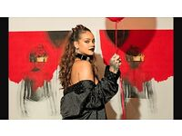 X2 tickets for Rihanna at Wembley 24th June 2016