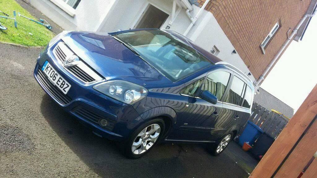 O6 Vauxhall zafira design 1.9cdti