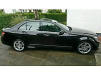 Mercedes C220 CDI Sport 2.1 diesel 09 plate £6850 ono