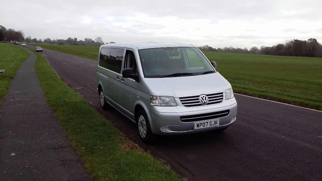 VW T5 Camper Van A New Conversion With Rare Twin Sliding Doors AND Tailgate
