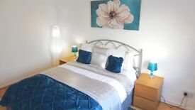 Spacious 2 bedroom flat for rent in the Village, East Kilbride with private parking