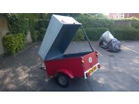 Trailer Roof Box Camping Trailer