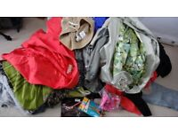 Women Clothes & Shoes Bundle /Bulk /Job Lot More Than 200 Items of Known Brands