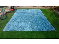 XL Next 100% Pure Wool Rug [Turquoise Mix]