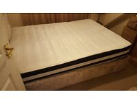 Memory Foam Sprung Matress Quilted 4ft6 Double