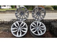 "4x BMW 17"" Alloy Wheels For Sale"