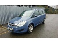 Vauxhall Zafira exclusive 2008 year, petrol, manual for SALE