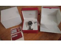 FOR SALE - OMEGA PLANET OCEAN 8500 REF: 23230422101001. 42mm. 2015 Omega 3 year warranty remaining