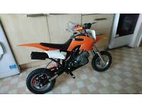 Two mini dirt bikes for sale