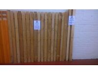 2.4m fence posts for sale (2 thicknesses available)