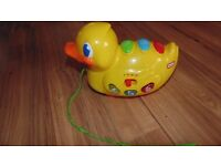 Little Tykes Sing and Roll Ducky. Pull along lights and songs Duck