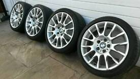 "BMW / BBS Motorsport 18"" Alloy Wheels * BBS / BMW Style 216 * e90 e46 BMW Alloys ( 5x120 )"