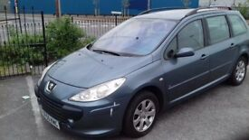 Peugeot 307 Estate HDi 2005 diesel manual