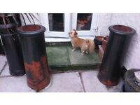 CHIMNEY/PLANTERS FOR SALE
