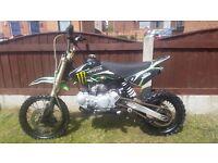 Moto madness 125cc pit bike CRF50 style