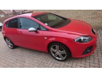 SEAT Leon FR in red 2.0l diesel