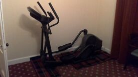Ex gym equipment - Commercial Life Fitness Cross Trainer