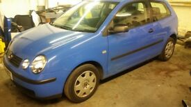 BROKEN FOR PARTS 52 volkswagen polo 9n 1.2 6v LA5F some parts left all cheap to clear
