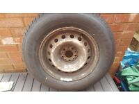 Brand new Tyre 197 70 14 from Scudo van