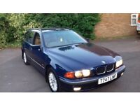 Bmw 525i auto touring in mint condition no mot hpi clear
