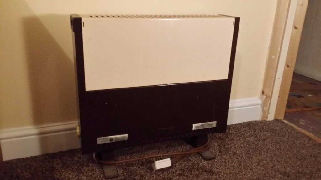 Barlin 2kW heater with thermostat