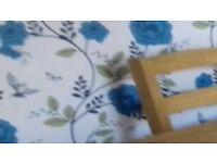 A large dinning table & 4 chairs very good condition always been looked after