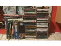HUGE CD and DVD bundle