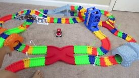 Super snap speed deluxe car set