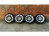 "Original BMW TURBINE 17"" Alloys with tyres"