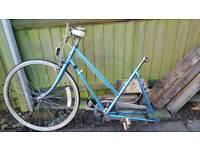 Old school vintage bicycle, road bike, race bike, project, spares or repairs