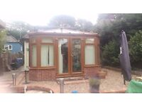 Anglian Light Oak UPVC Conservatory Good Condition Professionally Dismantled