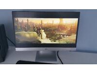 HP Pavilion 23xi 23 Inch IPS LED HDMI, DVI & VGA Backlit Screen Monitor - Fully Working