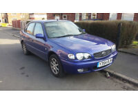 2001 Toyota Corolla 1.6 glx Auto, 5dr, 94,150 miles, 11 months Mot, Full documented service history