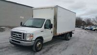 2008 Ford E-450 CUBE VAN DIESEL//EXCELLENT//CERTIFIED//2 YEARS W